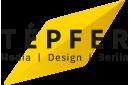 TÉPFER Media Design Berlin Logo